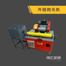 全自动天然气管道抛光机 圆管除锈机,钢管喷漆机