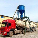 環保水泥粉料裝罐車氣力輸送機 石灰石粉風力抽料機