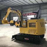 湖北农田改造小型多功能挖掘机直销 橡胶履带式小挖机