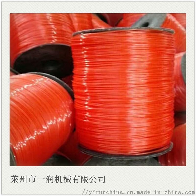 线性聚乙烯建工线拉丝生产设备  圆丝挤出拉丝机