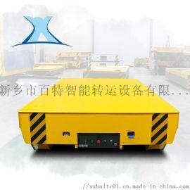 轨道车载重王电动导轨式平板车 5吨油桶转运电动车