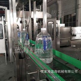 全自动5加仑桶装水灌装机生产线液体灌装机