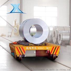 50吨卷材电动搬运车 遥控电动平板车