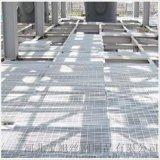 菱形钢格栅板, 菱形镀锌钢格栅板生产厂家