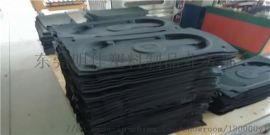 异型EVA箱包泡棉内衬 黑色海绵制品