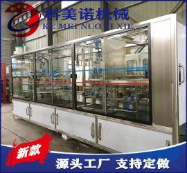 全自动直线式液体灌装机 3-15L泡茶水生产线设备