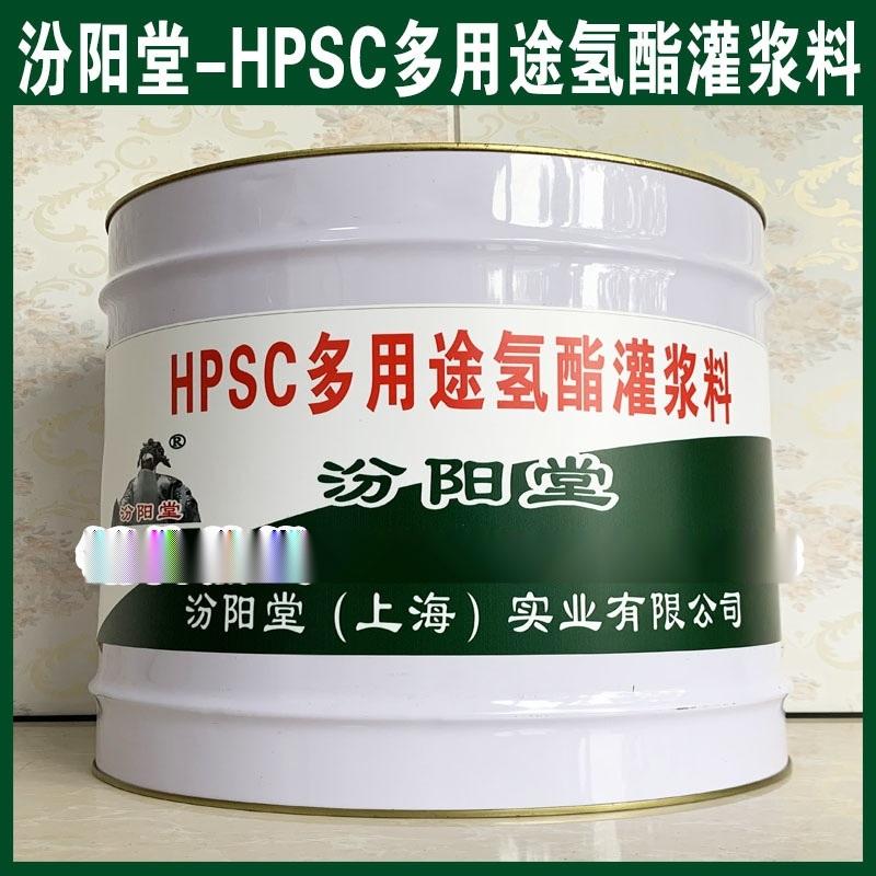 HPSC多用途**酯灌浆料、防水性好、耐化学腐蚀性能