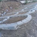 中隧45型非斜拉路緣石路側石混凝土預製構件設備廠家直銷