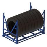 轮胎周转架 折叠式金属货架巧固架轮胎搬运器具