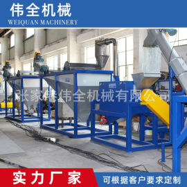 PP清洗线,厂家直销PE塑料废物回收机器瓶回收线