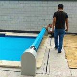PVC浮条游泳池盖 电动泳池盖 卷帘式游泳池盖