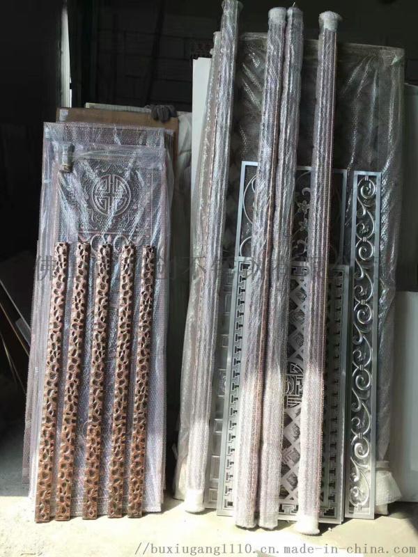 不锈钢青古铜龙纹大拉手酒店玻璃门拉手