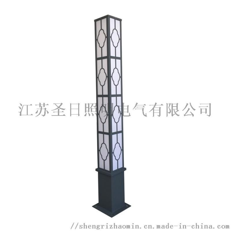 仿古立柱景观灯1-50W