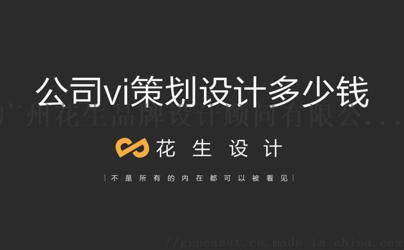 廣州vi設計多少錢,vi設計公司_推薦花生品牌設計