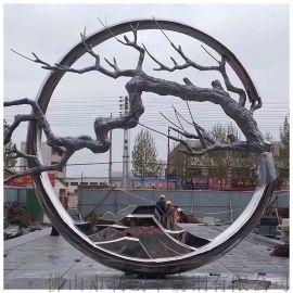 厂家雕塑 园林艺术不锈钢雕塑抽象上等不锈钢雕塑