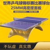 室內比賽專用金彩虹乒乓球檯