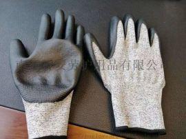 五级透气丁腈发泡手套