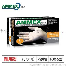 爱马斯AMMEX手套TLFC乳胶手套