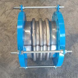 金属波纹膨胀节 全不锈钢补偿器