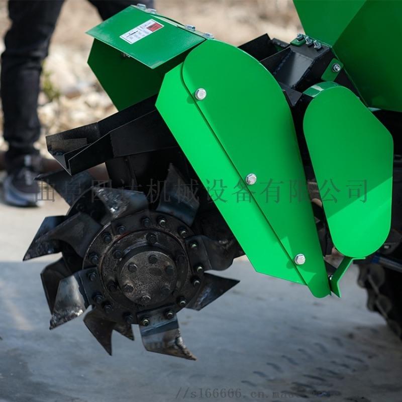 圣隆自走式田园管理机,履带式开沟田园机