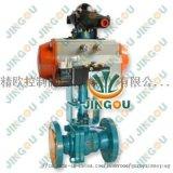 不鏽鋼氣動低溫調節閥 上海精歐超低溫型氣動調節閥
