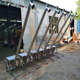南昌螺旋提升机生产厂家 片碱颗粒用螺旋加料机lj8