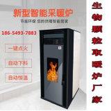 生物质颗粒取暖炉 智能新款家用颗粒炉设备