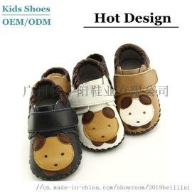 牛皮透气舒适学步鞋 广州MUSUNNYO学步鞋