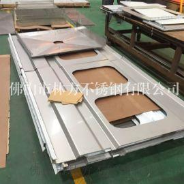 304彩色不锈钢加工 优质不锈钢装饰线条 别墅装饰线条