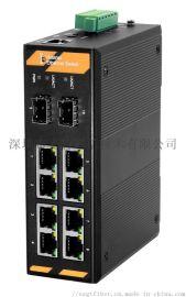 通讯安防监控带网管工业级交换机