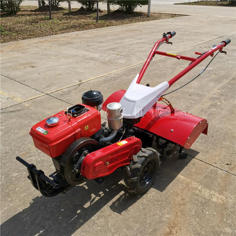 新型菜地手扶旋地机,柴油自走式旋地机