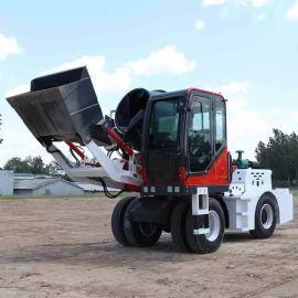 装载搅拌一体车 自动上料搅拌车 混泥土搅拌车