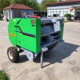 牵引式秸秆粉碎打捆机,玉米秸秆粉碎回收机