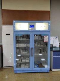 温湿度显示的药剂科双门冰箱