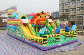 广东潮州儿童新款充气蹦蹦床厂家质量详细描述