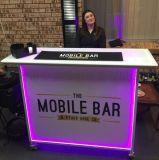 专业便携式酒吧移动台,红酒摆放推广临时折叠吧台