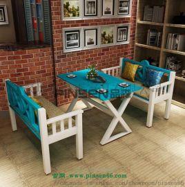 咖啡厅餐桌椅 餐厅桌椅厂家 餐厅家具定制 休闲餐桌椅