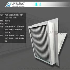 山坡风能发电SVG室进风口改造综合防护一体化过滤窗