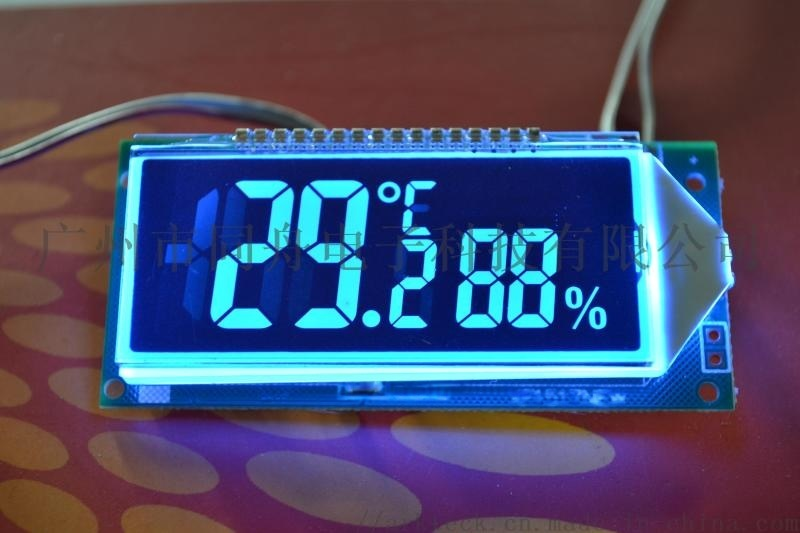 带温度湿度液晶显示屏