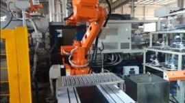 汽车方向盘镁合金压铸机器人自动化
