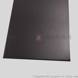 不锈钢电梯装饰板款式新颖高比制造喷砂黑钛