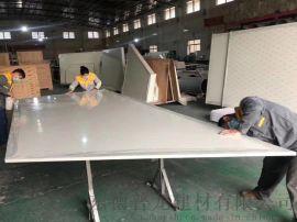 恒隆君悦酒店铝蜂窝板 覆膜木纹铝合金蜂窝铝板