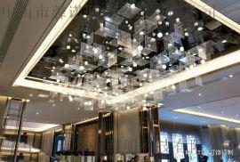 非标工程灯 成都广安金科售楼部项目