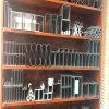 世纪汇广场木纹铝方管 国际书城吊顶铝方管