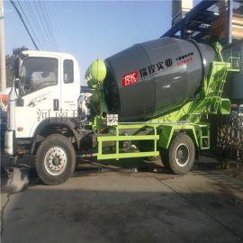 8方水泥搅拌车 混凝土罐车 小型混凝土运输车 厂家直销