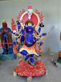 佛像雕塑 寺庙用品 藏佛厂 秽迹金刚铜像