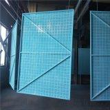 北京钢制安全防护网    喷塑冲孔爬架网