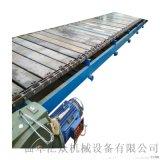 垃圾輸送機 多列鏈板輸送機 六九重工鍍鋅板鏈板輸送