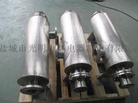 非标定制管道式空气电加热器 氮气管道加热器
