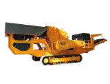 移動破碎站_輪胎式/履帶式/建築垃圾移動式破碎機